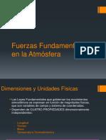 Clase 2 - Fuerzas Fundamentales en La Atmósfera_2018