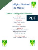 Portafolio de Evidencias, Planeación Financiera (Reparado)