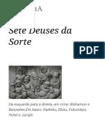 Sete Deuses Da Sorte – Wikipédia, A Enciclopédia Livre