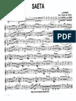 Saeta (J.M.serrat) - Saxo Alto Mib 2