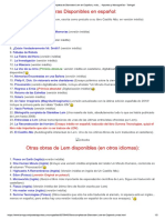 Lista de Obras de Stanislaw Lem en Español