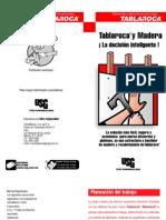 Instructivo_madera Instalar Tablaroca