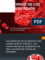 Trastornos de Los Globulos Rojos - Patología General