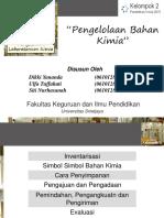 PPT Pengelolaan Lab Kimia 3
