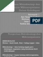 Dasar-dasar Mikrobiologi Dan Peranan Mikroorganisme Dalam Kehidupan