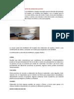 Mobiliario y Material de Unidad Del Paciente