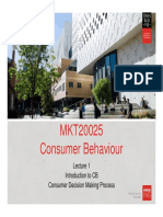 Lecture 1 Consumer Decision Making Process(2)