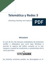 Corte 1 - Presentación 3 - Wireshark