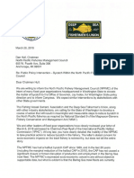 Joint letter on bycatch