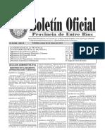 Boletin Oficial Inprocil SA -Benvenuto ( 26 de marzo 2018 )