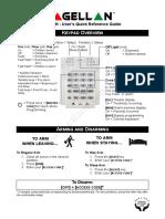 User Manual Paradox SP Series K10V Alarm Keypad