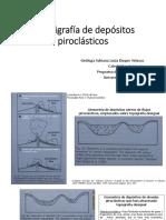 Estratigra depiroclasticos