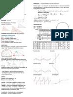 Hoja Resumen Matemática 2 - 5to Científico - Uruguay