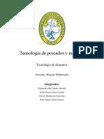 Informe Final Pescados y Mariscos(1)