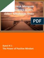 Slides Presentasi - 5 Kunci Untuk Menguak Rahasia Kesuksesan Sejati