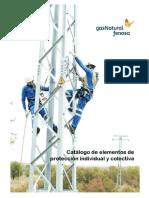 Catalogo de Elementos de Proteccion Personal y Colectivos