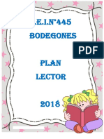 Plan Lector 2018 Modelo 3,4,5 Años