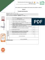 Formato de Evaluacion 2do Bimestre