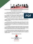 09abr2018 - Declaración Pública - Comité Central - Ante La Persecución a Lula Da Silva