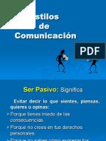 Estilos de Comunicacin146