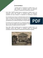 Historia Del Teatro en Guatemal1