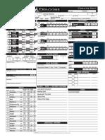 Interactive DnD 4.0 Character Sheet