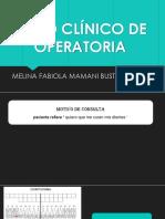 Caso Clínico de Operatoria