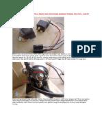 Wiring Relay Pada Stator