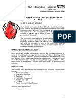 Info for Patients Following Heart Attack