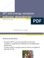 SPT Test Energy Variations Anthropic Dependencies