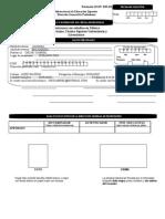 solicitud de registro de titulo y expedicion de cedula profesional llenada