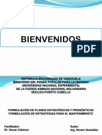 Formulación Estratégica de Mantenimiento. Pptx