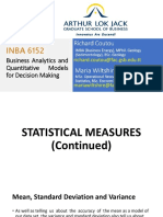 Session2 Statistical Measures Continuation