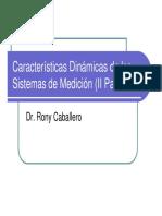 5- Dinámica de Los Sistemas de Medición II