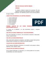 Estudio de Sociales Centro Urbano