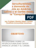Conferencia Interculturalidad Edson Wooldy