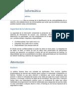 Apuntes 1 - seguridad informatica