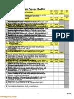 02 LOT WorkshopChecklist Updated May14 2008