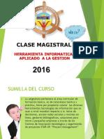Herramietas Informatica Clase Magistral