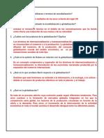 Derecho Economico Mundializacion y Globalizacion