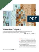 HBR - Human Due Diligence