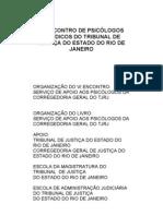 6º Encontro de Psicólogos Jurídicos do TJRJ - 2004 - Comunicações