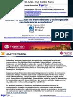 CARLOS PARRA Índices Técnicos-económicos