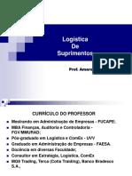 2.0 Logística de Suprimentos - IfES - Prof Amaro