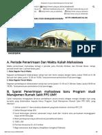 Akademik _ Program Studi Manajemen Rumah Sakit