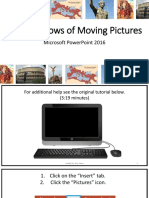 moving images tutorial