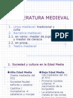 La Literatur a Medieval