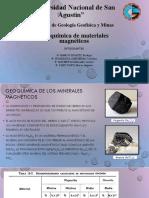 Geoquimica de Materiales Magenticos