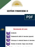Gestión Finaciera II - Salud