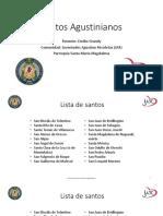 Santos Agustinianos
